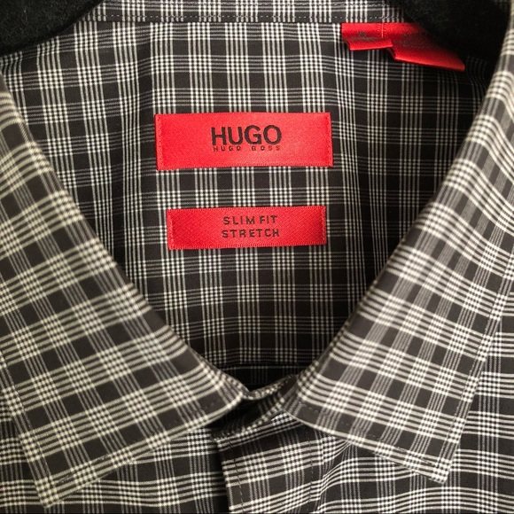 bc38208d Hugo Boss Shirts | Nwt Slim Fit Stretch Mens Dress Shirt | Poshmark